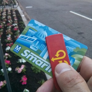 SmarTrip card and CaBi key
