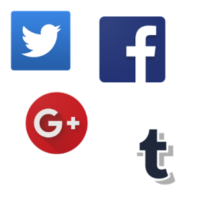 Social-network icons