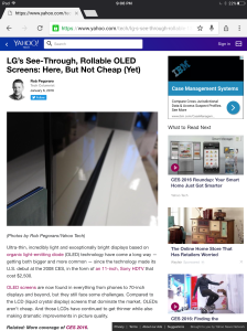 CES 2016 OLED report