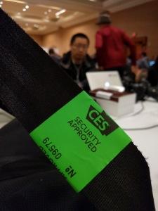 CES security sticker