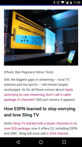 Yahoo Tech 2016 cord-cutting post