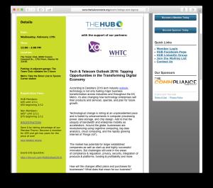 Hub 2016 tech outlook panel