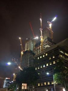 Tel Aviv construction