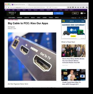Yahoo Tech cable-box post