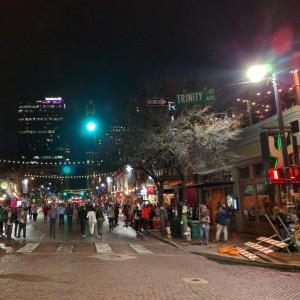 Sixth Street during SXSW