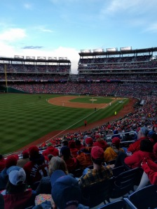 Nats Park home opener 2016
