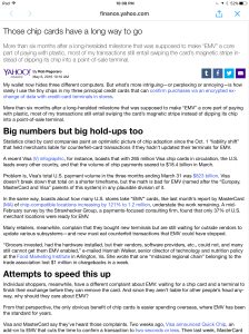 Yahoo Finance EMV-update post