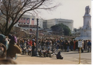 Photo from Clinton's inauguration in 1993