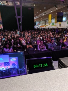 Web Summit panel clock