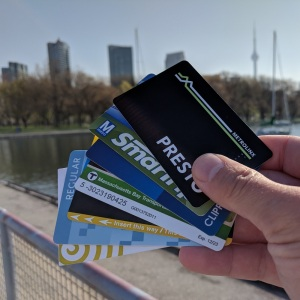 Transit cards in Toronto