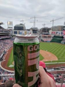 Nats Park beer