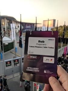 MWC 2019 badge