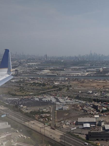 Sept. 11 landing at EWR