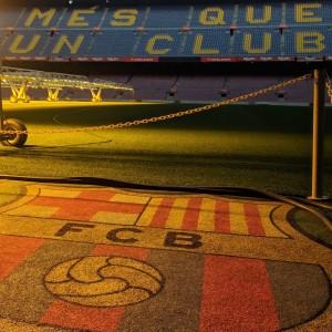 FCB logo Camp Nou