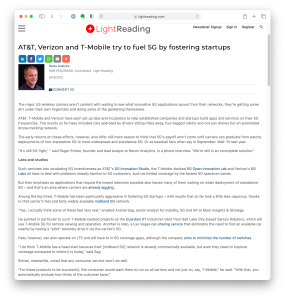 Screenshot of the Light Reading story as seen in Safari in macOS Big Sur