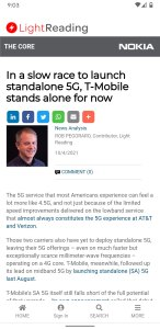 Screenshot of the article as seen in Chrome on an Pixel 3a phone
